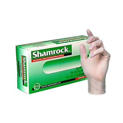 SHAMROCK SHAMROCK GLOVES VINYL POWDER FREE (MEDIUM) 100CT