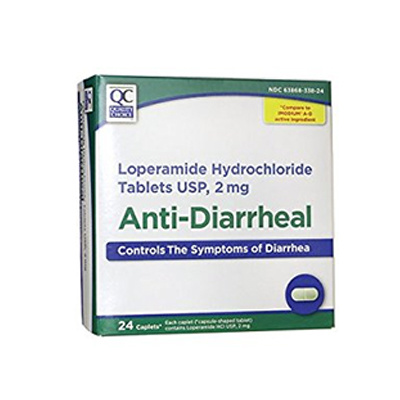 QC Anti-Diarrheal 24 Caplets