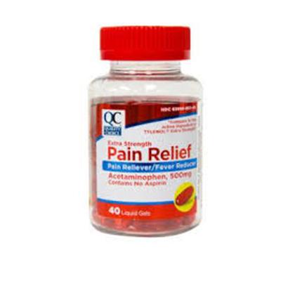 QC QC PAIN RELIEF PM GELTAB 50CT