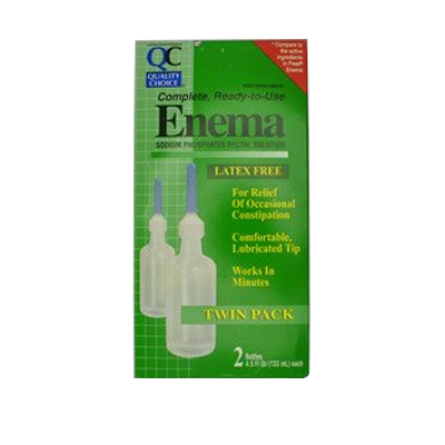 QC QC ENEMA ADULT TWIN PACK 4.5 OZ