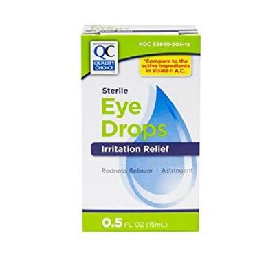 QC QC EYE DROPS ALLERGY RELIEF 0.5OZ