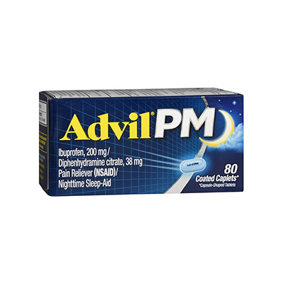 ADVIL ADVIL PM CAPLET 80CT