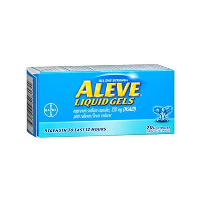 ALEVE ALEVE LIQUID GEL 220MG 20CT