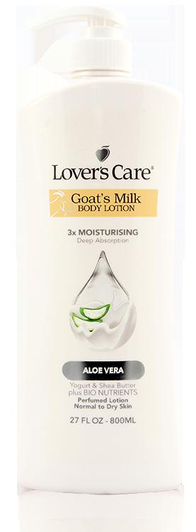 Lover's Care LOV BODY LOTION 27 OZ - ALOE VERA - LOTION DƯỠNG ẨM CƠ THỂ 27OZ  - CHIẾT XUẤT NHA ĐAM