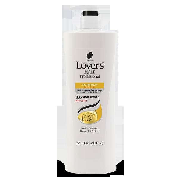 Lover's Care LOV HAIR PROFESSIONAL 3X CONDITIONER 27 OZ - NUTRITION - DẦU XẢ CHUYÊN NGHIỆP, BÓNG MƯỢT TÓC 27 OZ  - LOVER'S HAIR 3X NUTRITION