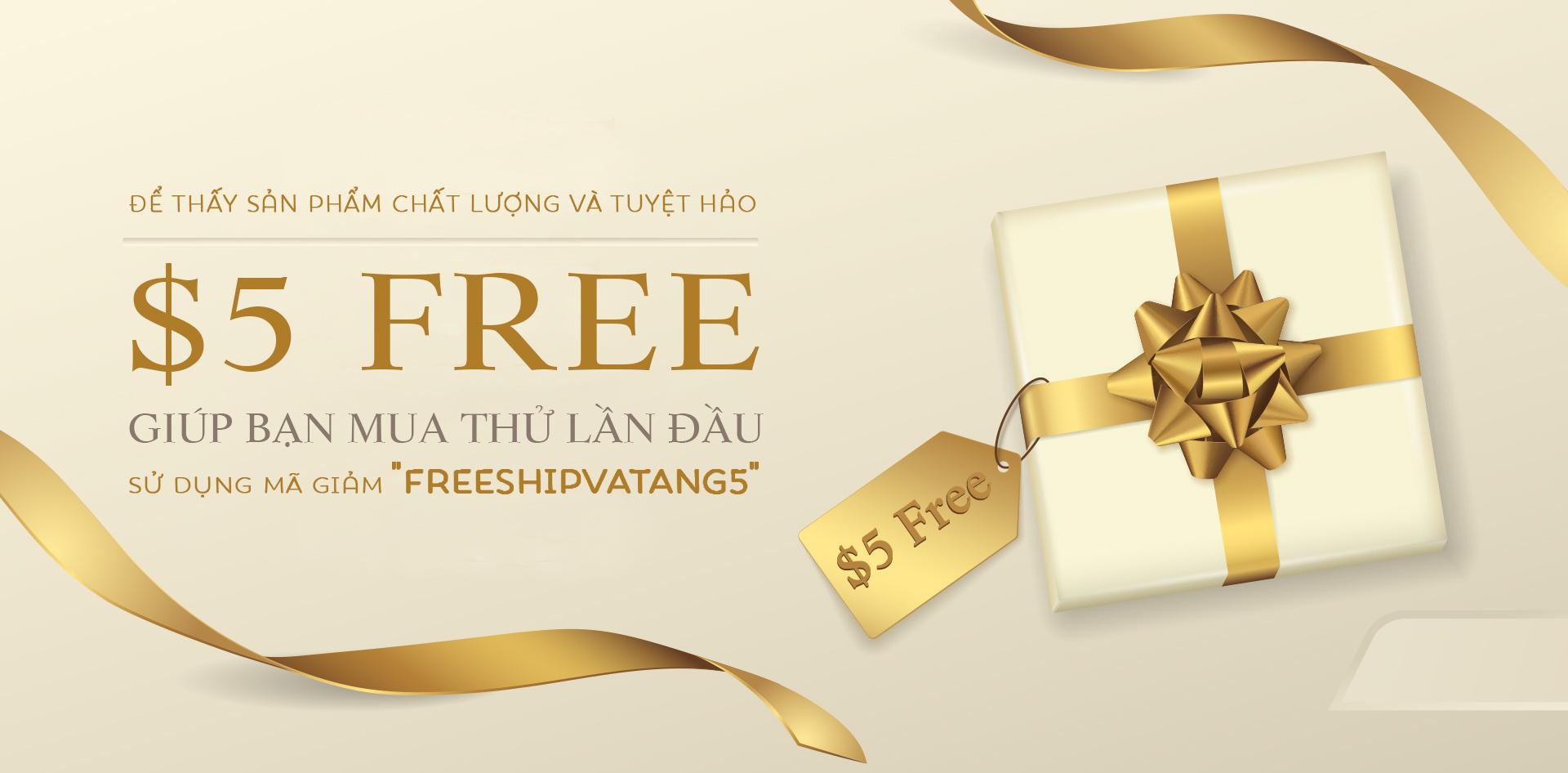 $5 Free