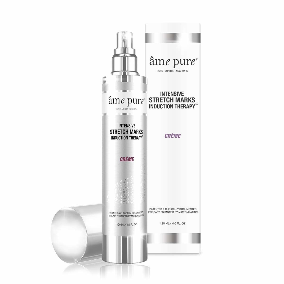AME PURE AME PURE INTENSIVE STRETCH MARKS INDUCTION THERAPY CRÈME 120ML - KEM DƯỠNG THỂ GIẢM RẠN NỨT DA