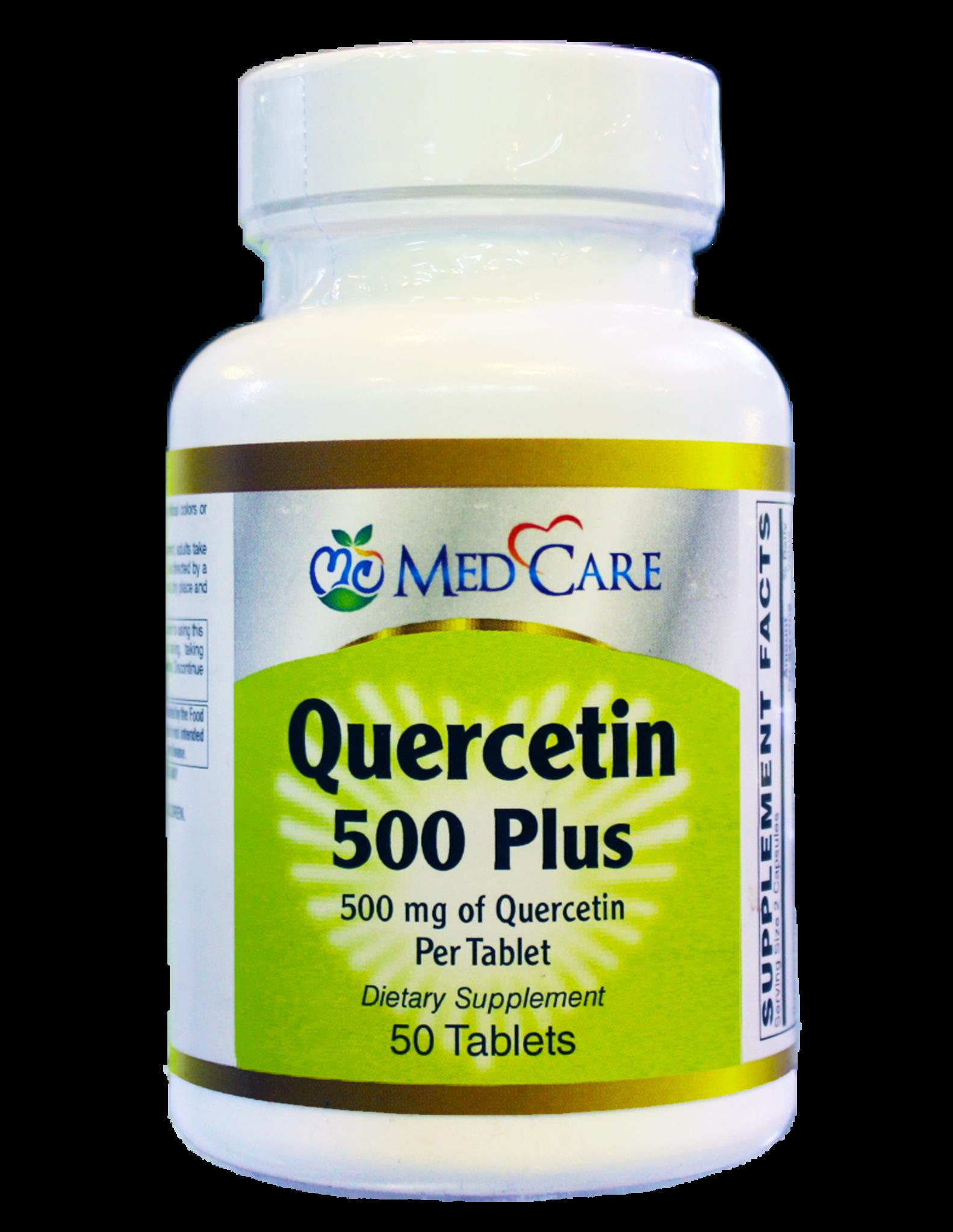 MEDCARE MC QUERCETIN PLUS 500MG 50CT -  HỢP CHẤT HỖ TRỢ BỆNH GOUT
