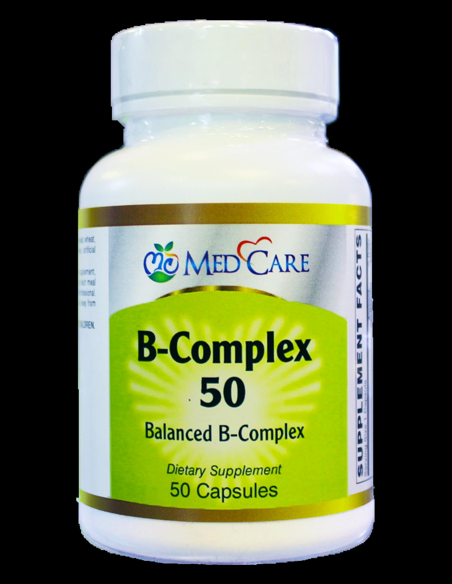 MEDCARE MC B COMPLEX 50 CAPSULE  - THUỐC BỔ VITAMIN B TỔNG HỢP