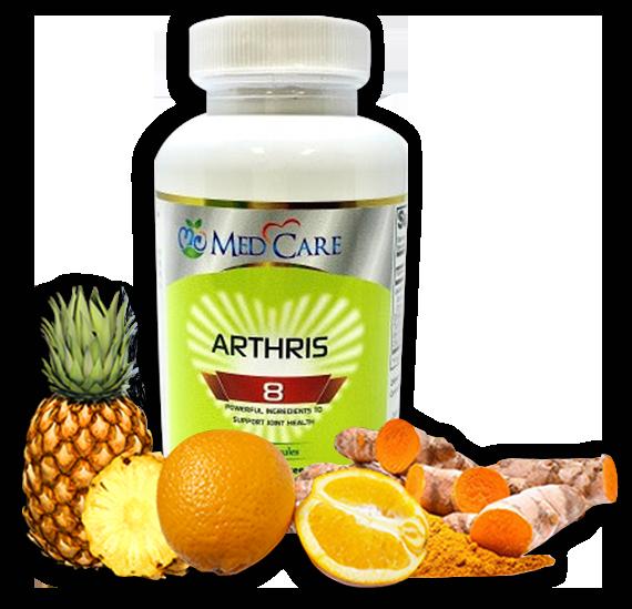 MEDCARE MC ARTHRIS-8 CAPSULE 60CT -HỖ TRỢ ĐAU NHỨC KHỚP XƯƠNG