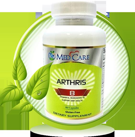 MEDCARE ARTHRIS-8 CAPSULE 60CT -HỖ TRỢ ĐAU NHỨC KHỚP XƯƠNG