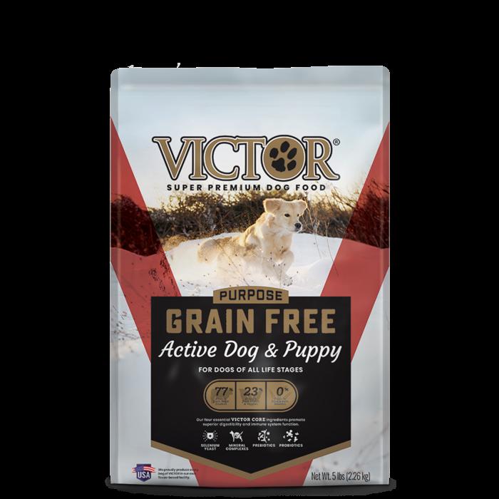 VICTOR Victor Active Dog & Puppy Formula Grain-Free Dry Dog Food