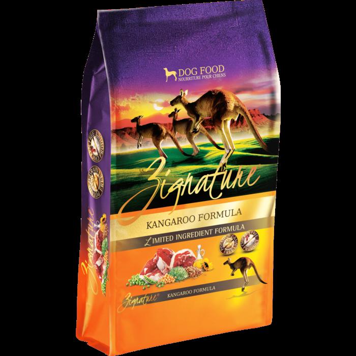 Zignature Zignature Grain Free Dog Food Kangaroo 27-Lb
