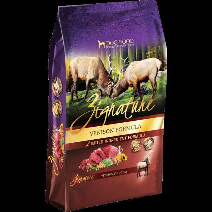 Zignature Zignature Grain Free Dog Food Venison 27-Lb