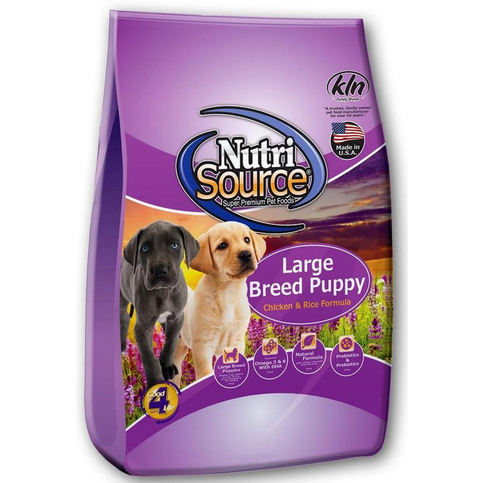 NutriSource NutriSource Adult Large Breed Chicken & Rice Dry Dog Food
