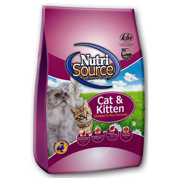 NutriSource NutriSource Cat and Kitten Chicken and Rice Dry Cat Food