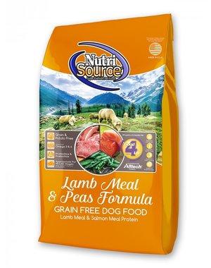NutriSource NutriSource Lamb Meal and Peas Formula Grain Free Dry Dog Food