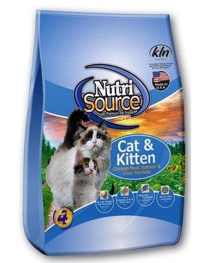 NutriSource Cat & Kitten Chicken, Salmon & Liver Dry Cat Food