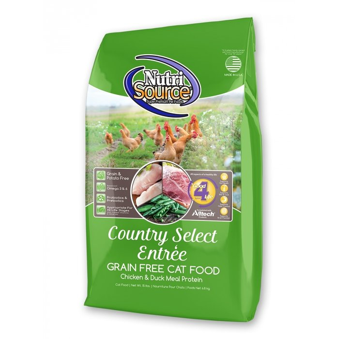 NutriSource NutriSource Grain Free Country Select Entree Dry Cat Food