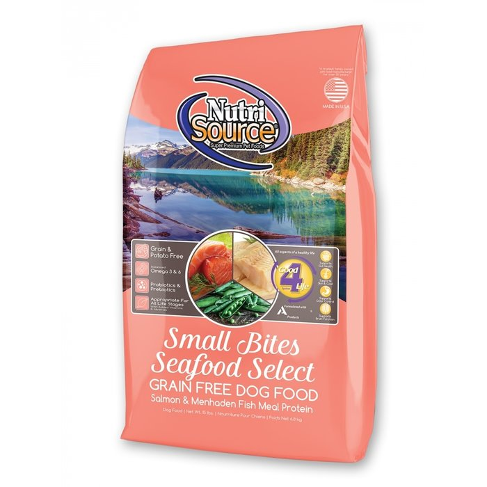 NutriSource NutriSource Grain Free Small Breed Seafood Select Dry Dog Food
