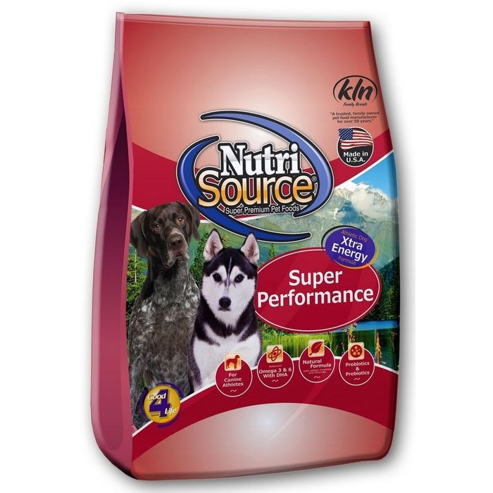NutriSource NutriSource Super Performance Chicken & Rice Dry Dog Food