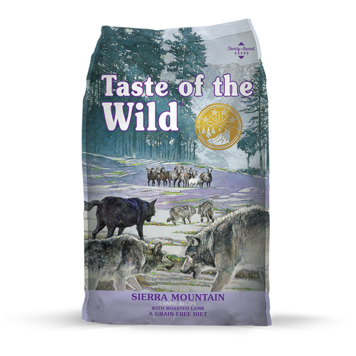 Taste of the Wild Taste of the Wild Sierra Mountain Dry Dog Food