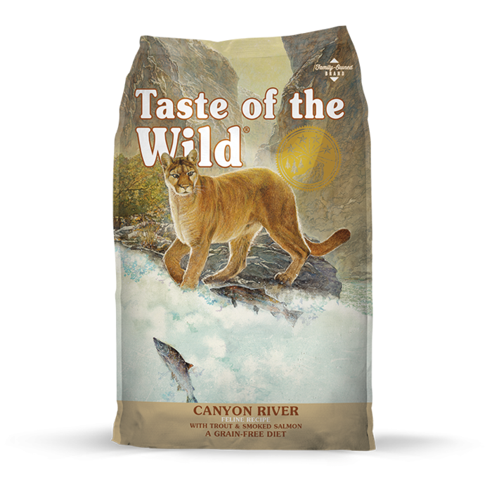 Taste of the Wild Taste of the Wild Canyon River Dry Cat Food