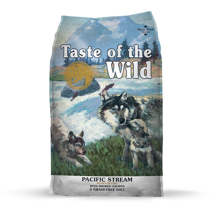 Taste of the Wild Taste of the Wild Pacific Stream Smoked Salmon Puppy Dry Food