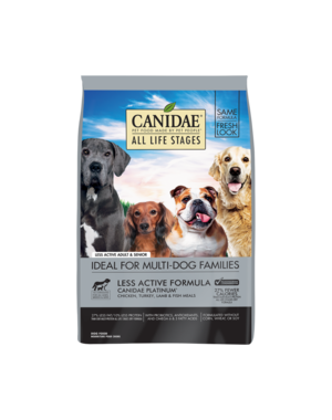 CANIDAE Platinum Formula for Less Active & Senior Dogs Dry Dog Food