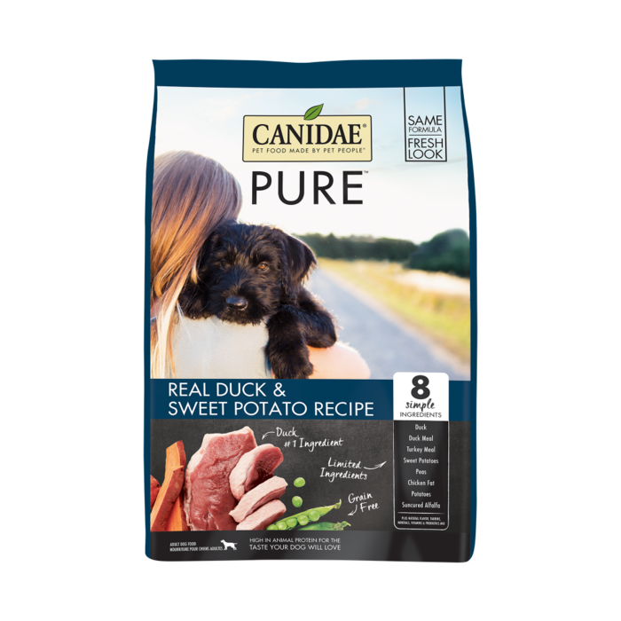 CANIDAE Canidae Grain Free PURE Duck & Sweet Potato Recipe Dry Dog Food