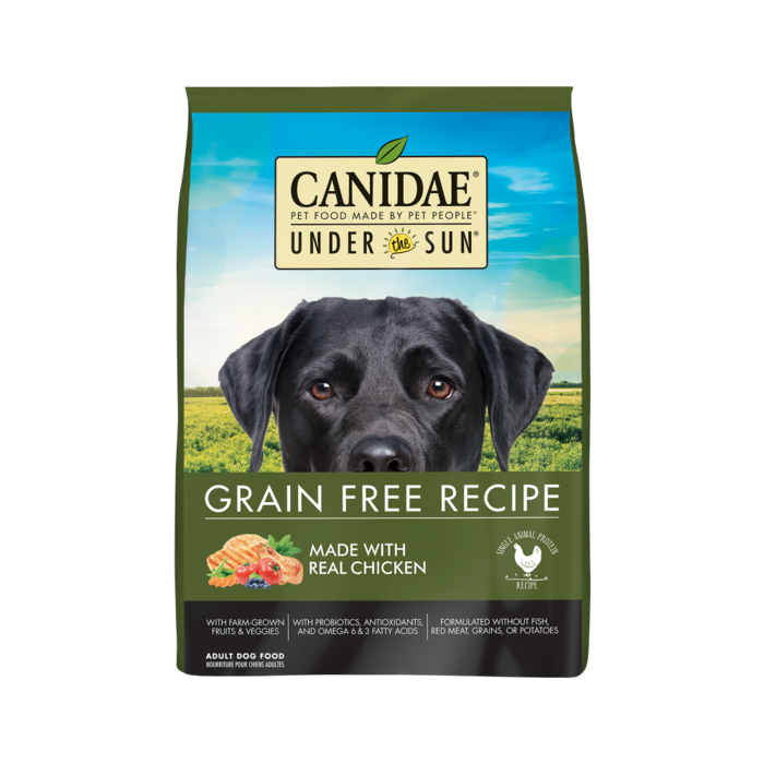 CANIDAE Canidae Under the Sun Grain Free Adult Chicken Recipe Dry Dog Food