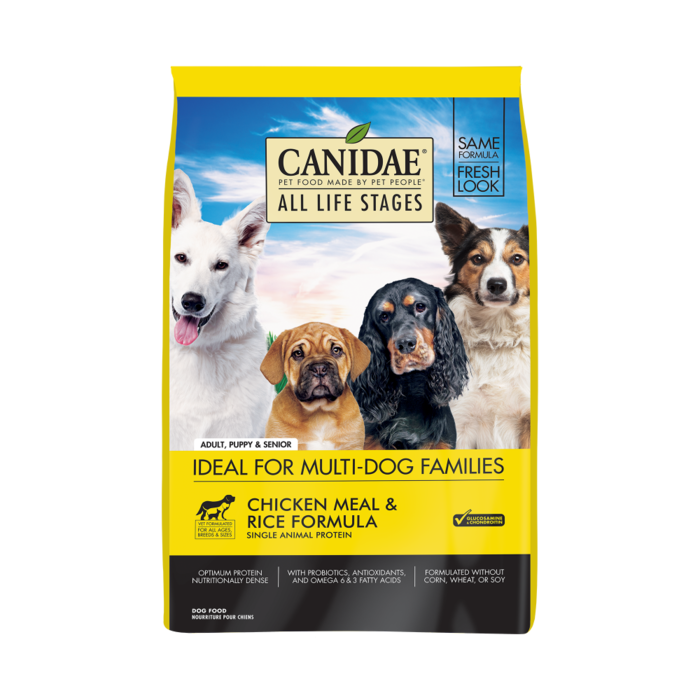 CANIDAE Canidae All Life Stages Chicken Meal and Rice Formula Dry Dog Food