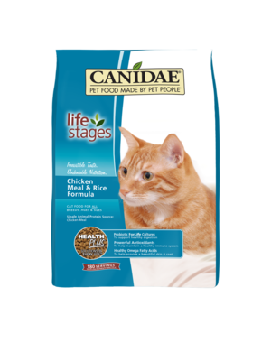 CANIDAE Canidae Life Stages Chicken Meal and Rice Formula Dry Cat Food