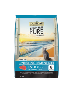 CANIDAE Canidae Grain Free PURE Ocean Indoor with Tuna Dry Cat Food