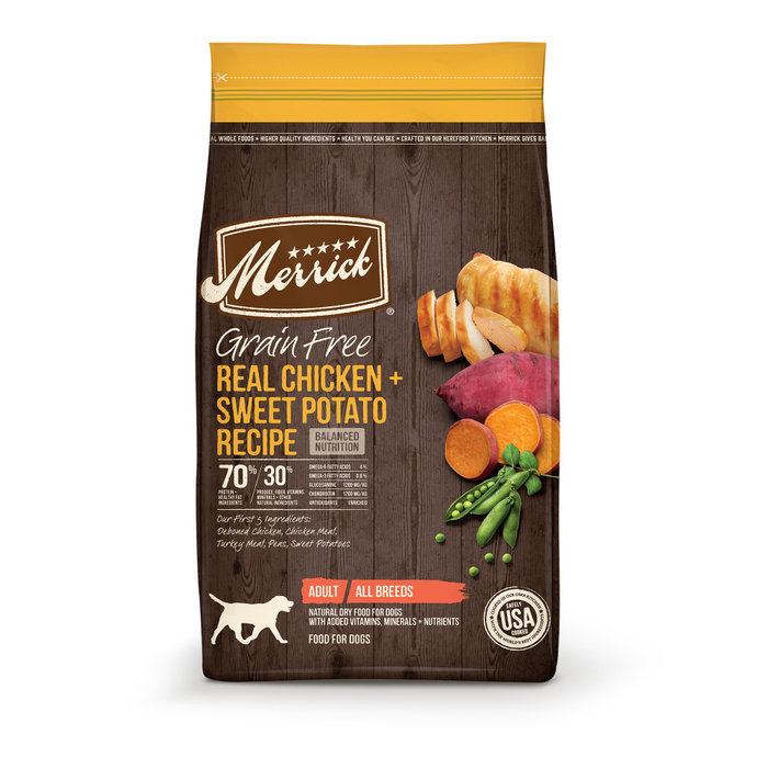 MERRICK PET CARE, INC. Merrick Grain Free Healthy Weight Recipe Dry Dog Food