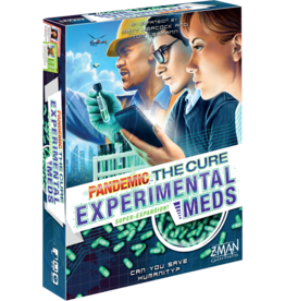Z-Man Games Pandemic The Cure! (Experimental Meds)