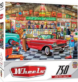 Masterpieces Puzzles & Games Wheels - The Auctioneer (750pc)