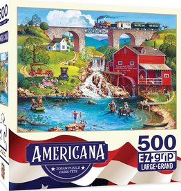 Masterpieces Puzzles & Games Americana: Labor Day 1909 (500pc EZ Grip)
