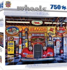 Masterpieces Puzzles & Games Wheels: At Your Service (750pc)