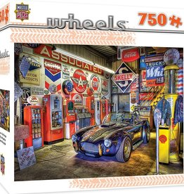 Masterpieces Puzzles & Games Wheels - Jewel of the Garage (750pc)