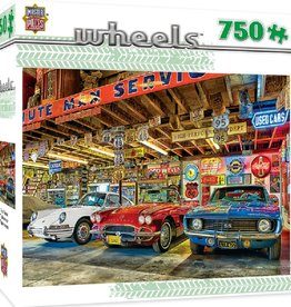 Masterpieces Puzzles & Games Wheels - Triple Threat (750pc)