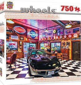 Masterpieces Puzzles & Games Wheels - Black Beauty (750pc)