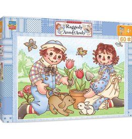 Masterpieces Puzzles & Games Classic: Raggedy Ann & Andy - Picnic Friends (60pc)