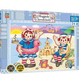 Masterpieces Puzzles & Games Classic: Raggedy Ann & Andy - Beach Fun (24pc)
