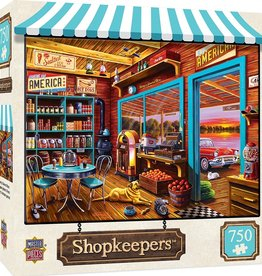 Masterpieces Puzzles & Games Shopkeepers - Henry's General Store (750pc)