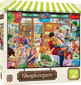 Masterpieces Puzzles & Games Shopkeepers - Lucy's First Pet (750pc)