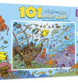 Masterpieces Puzzles & Games 101 Things to Spot Underwater (100pc)
