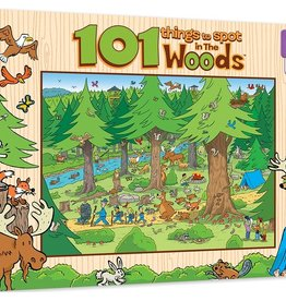 Masterpieces Puzzles & Games 101 Things to Spot in The Woods (100pc)