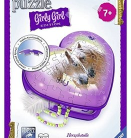 Ravensburger Girly Girl Heart 3D (54pc)