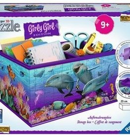 Ravensburger Girly Girl Storage Box 3D (216pc)